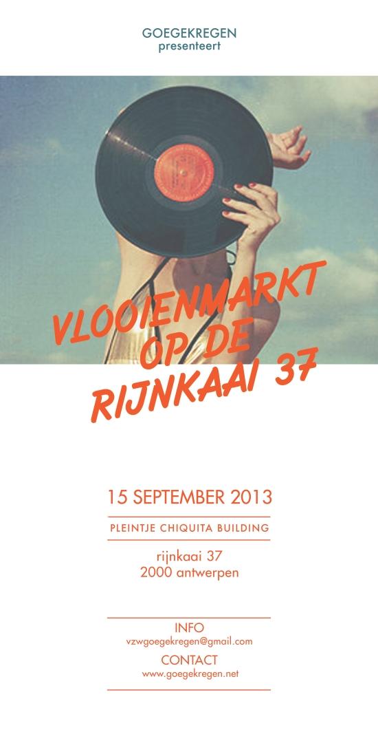 15/09 Vlooienmarkt Rijnkaai 37