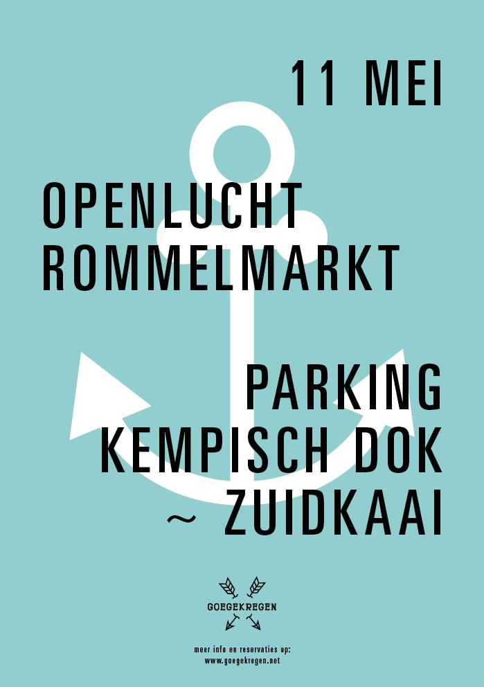 03-14 flyer rommelmarkt Kempischdok-Zuidkaai 11 05 2014