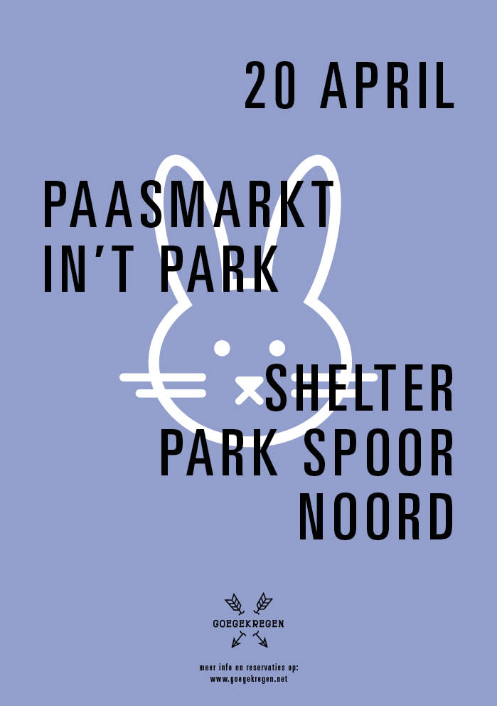 Paasmarkt shelter Park Spoor Noord_20042014 - flyer