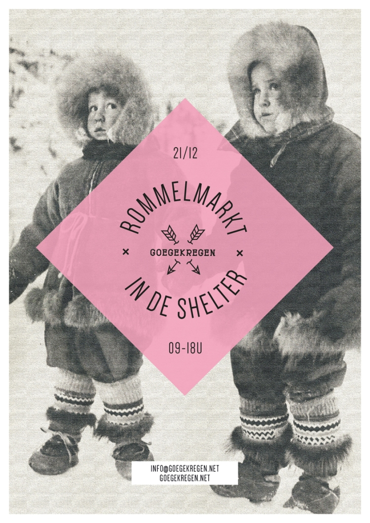 flyer rommelmarkt shelter Park Spoor Noord 21 12 2014-3
